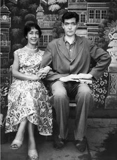 Aurora Bernárdez y Julio Cortázar
