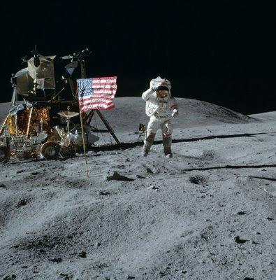 Armstrong en la Luna