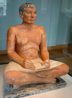 El escriba sentado - Museo del Louvre