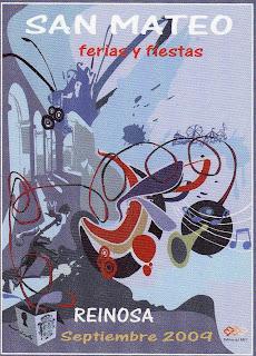Cartel de las ferias y fiestas de San Mateo 2009, de Ricardo González García