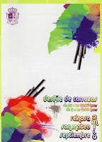 'Materias primas', cartel del desfile de carrozas, realizado por Lidia Fernández