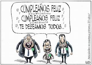 Viñeta de Ricardo en El Mundo