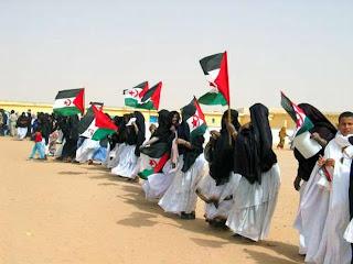 Banderas saharauis
