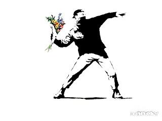 Flowers - Banksy