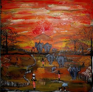 Sueño en África - Marcela Mumet