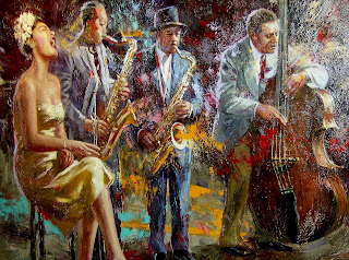 'Melancholy Blues. Billie Holiday & Band' - Nenad Mirlovich