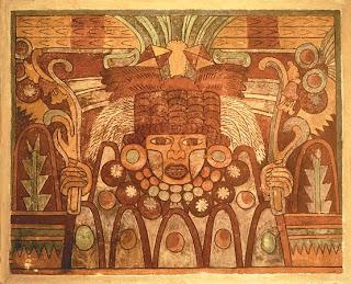 Pintura mural teotihuacana