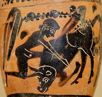 Hércules y el toro de Creta