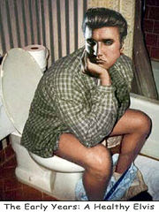 Elvis Presley Dead On Toilet
