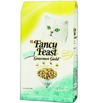 Fancy Feast Gourmet Gold Ocean Fish and Salmon Dry Cat Food