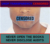UNDP Transparency Censored