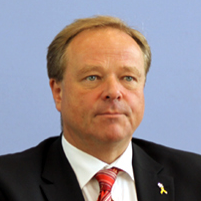 H.E. Dirk Niebel - German Development Minister
