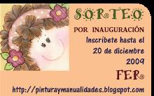 Sorteo por inauguracion de mi blog!