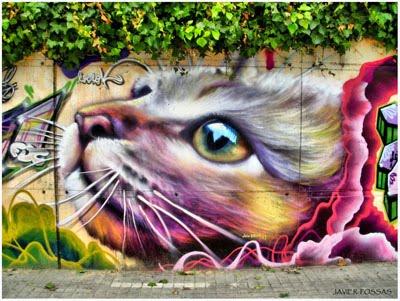 Graffitis, arte o polución urbana
