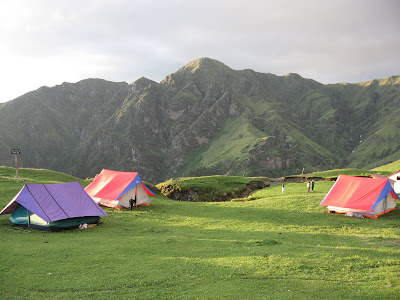 Roopkund Trek Bedni Bugyal camp site Best in the Himalayas