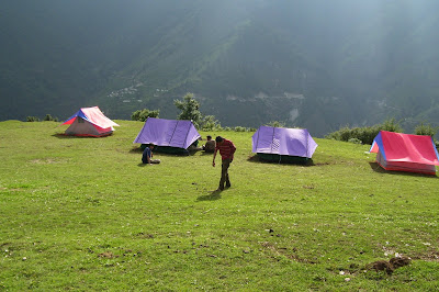 Roopkund Trek Didana camp site