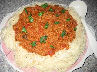 Delicieux Spaghetti Bolognese