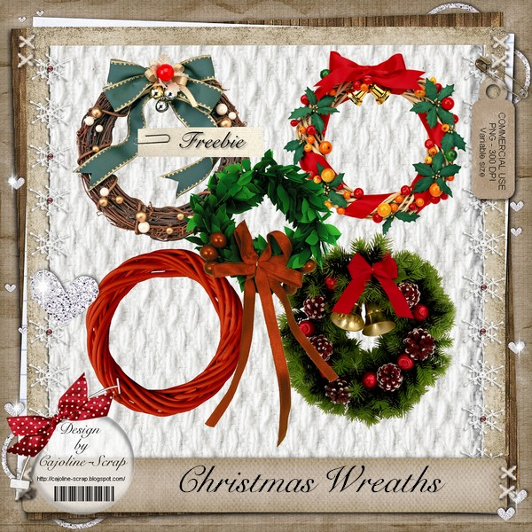 CHRISTMAS WREATHS - CU Cajoline_christmas_wreaths