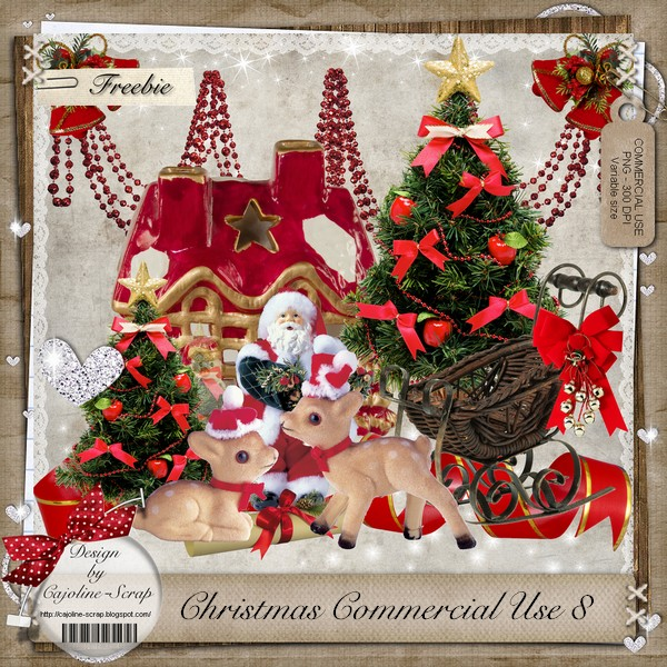 CHRISTMAS COMMERCIAL USE 8 Cajoline_CU8_pv