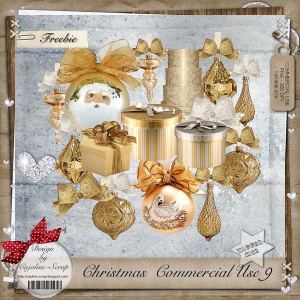 CHRISTMAS COMMERCIAL USE 9 Cajoline_christmasCU9_pv