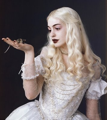 dress looked weird gorgeous love pale dark lipstick xd white queen anne hathaway