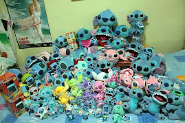 my humble portion of my stitch collection...