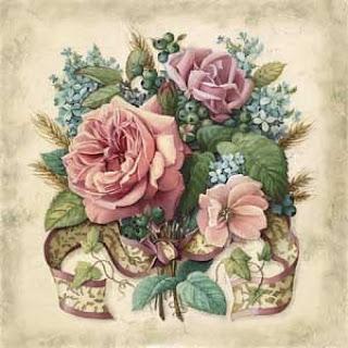 Lo mejor de las manualidades laminas flores para decoupage for Laminas grandes para cuadros