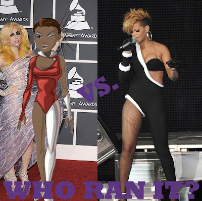 Who Ran It: Avatar Luvvie or Rihanna?