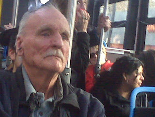 Old Man on Bus vs. Me