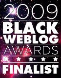 My site is a finalist for a Black Weblog Award!
