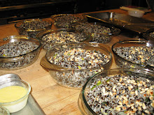 Wild rice and pine nuts