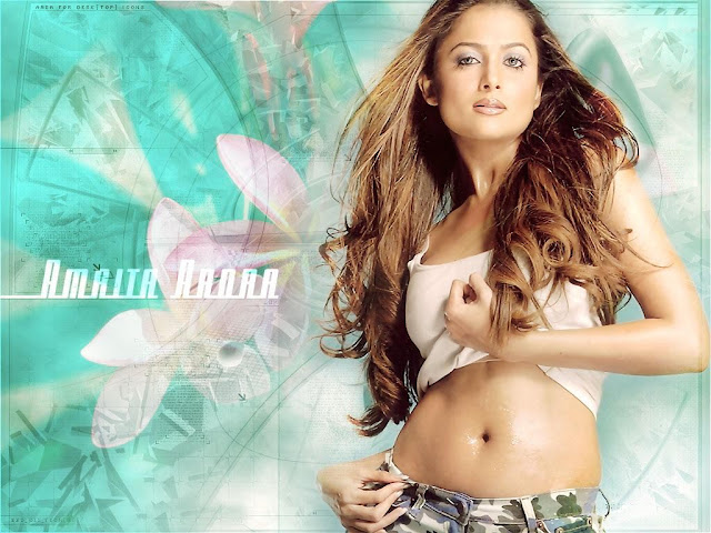 Amrita Arora Sexy Indian Wallpaper