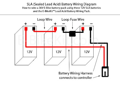 Battery Wiring Diagram Wireing Diagrams Schwinn Electric Scooters