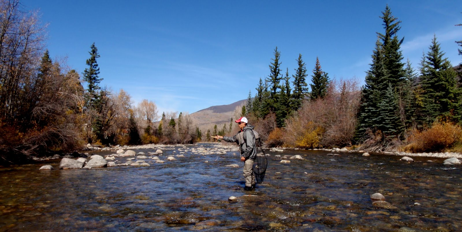 colorado fly fishing reports blue river report october 2010
