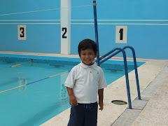 listo para nadar