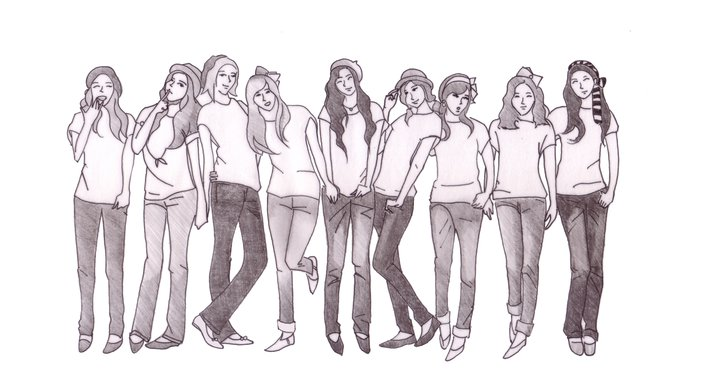 Jenu0026#39;s Secret Garden...u6211u7684u79d8u5bc6u82b1u56ed Sketch Of Girlsu2019 Generation