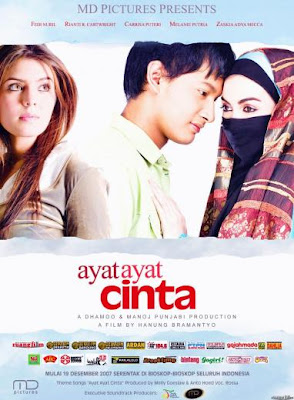 ayat ayat cinta posterpreview Akhirnya SlumDoG kebanjiran penghargaan