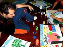 taller arte terapia -manejo del dolor a través del arte- con desplazados NULA. SJR-2009