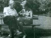 Con María esther Vázquez