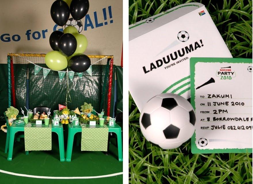 Ideas Para Decorar Fiesta De Futbol