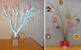 Ramas de arboles para decoracion - Ramas decoradas ...