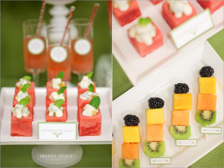 Mesa dulce de frutas y vegetales - Adornos de frutas para mesas ...
