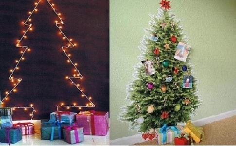 Necesitas espacio extra para poner los regalos de navidad - Arbol de navidad de pared ...
