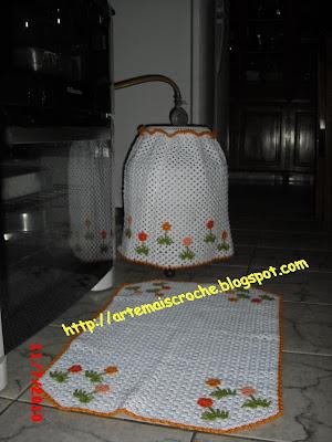 capa de botijão croche