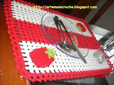 conjunto americano crochê