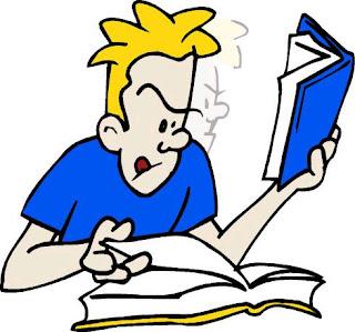Orang sedang belajar