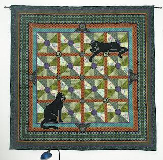 Art Nouveau Cats