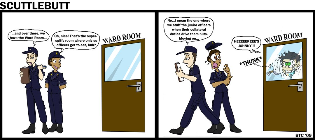 Comic drawn by BTC
