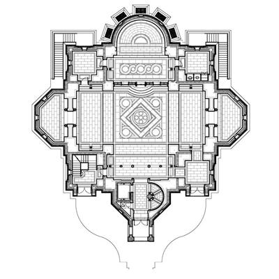 Catholic church floor plan reanimators