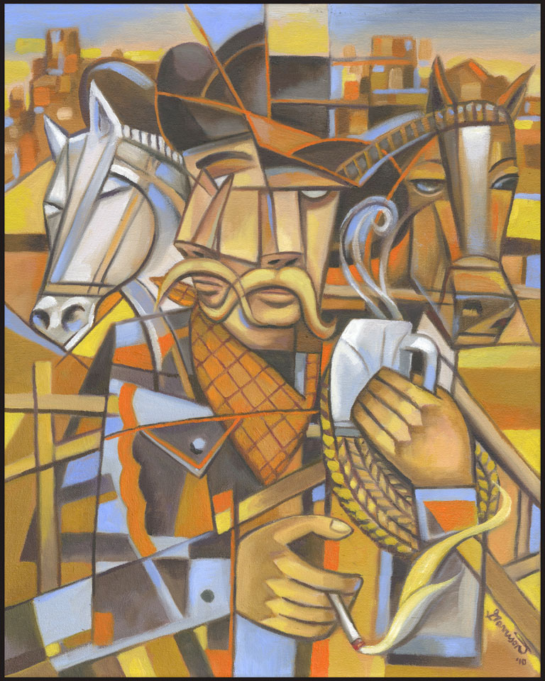 impressionism vs cubism Cubism began as an idea and then it became a style based on paul cézanne's three main ingredients - geometricity, simultaneity (multiple views) and passage - cubism tried to describe, in visual terms, the concept of the fourth dimension cubism is a kind of realism.